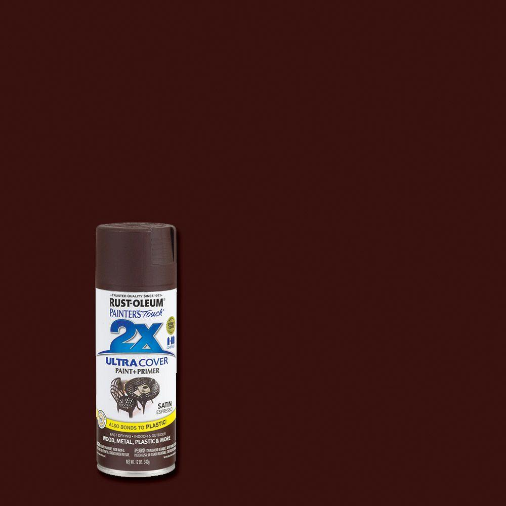 Rust Oleum Painter S Touch 2x 12 Oz Satin Espresso
