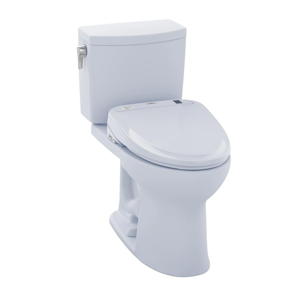 toto drake ii connect 2 piece 1 0 gpf elongated toilet with washlet s300e bidet seat and. Black Bedroom Furniture Sets. Home Design Ideas