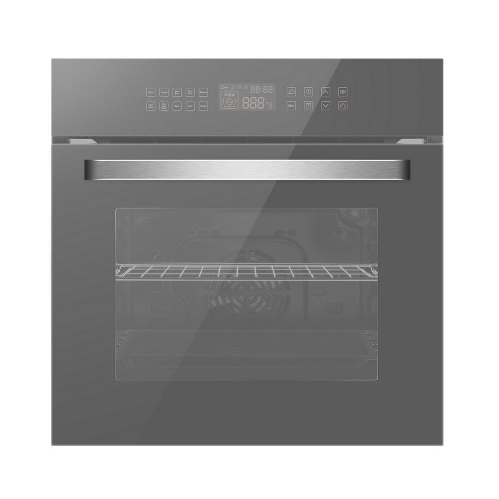 9 Cooking Function 3 Layer Glass Wall Oven ETL Safety Certified /& Easy To Clean Gasland chef ES609DS 24 Built-in Single Wall Oven Stainless Steel Electric Wall Oven With Cooling Down Fan