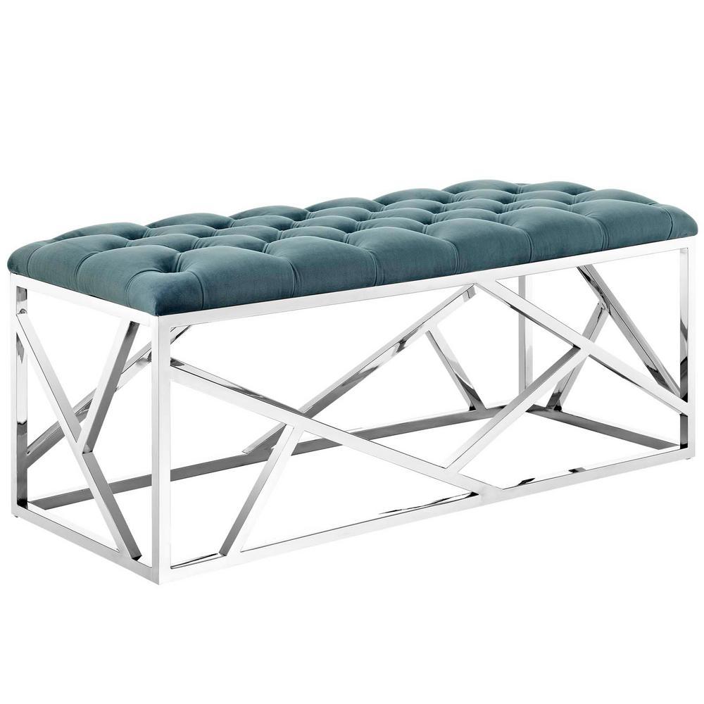 Silver Sea Intersperse Bench