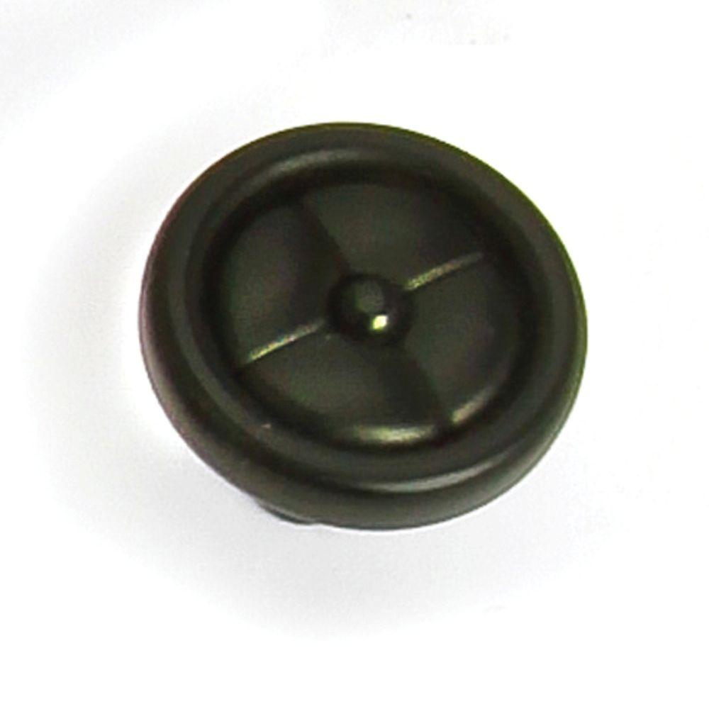 Paris 1-1/4 in. Black Iron Cabinet Knob