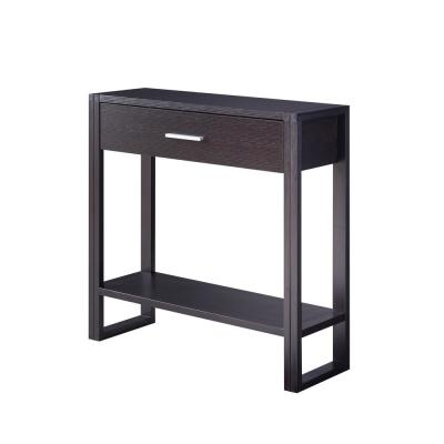 Fifer Espresso 1-Drawer Console Table