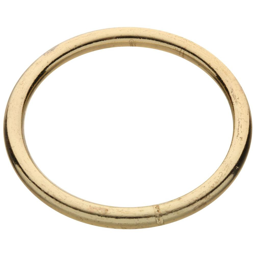 #2 x 2-1/2 in. Zinc-Plated Ring