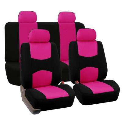 Cloth 43 in. x 23 in. x 1 in. Full Set Seat Covers