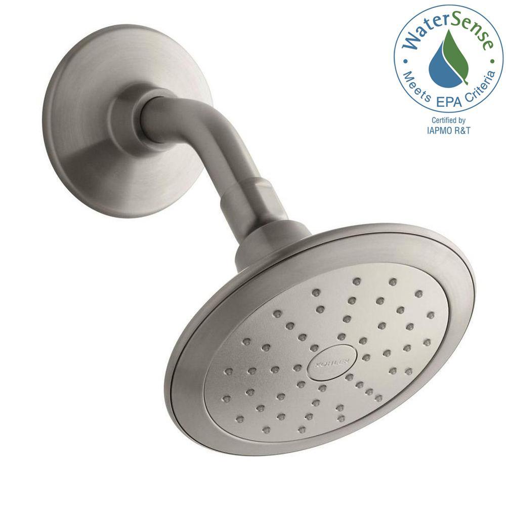 Alteo 1 Spray Katalyst 5.7 In. Showerhead In Vibrant Brushed Nickel