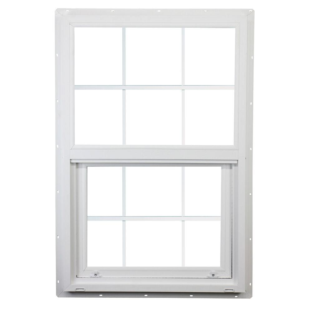Ply gem 35 5 in x 47 5 in 400 series single hung vinyl Best vinyl windows reviews