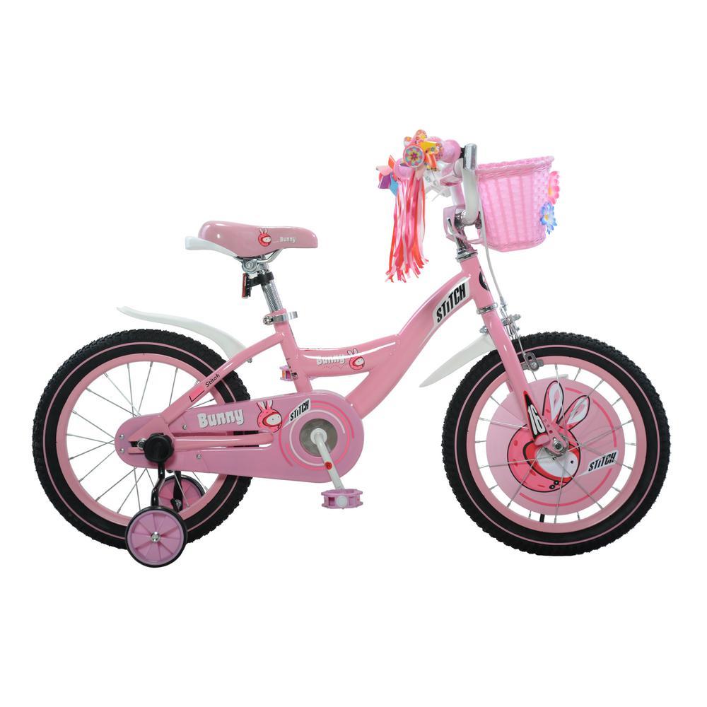 Bunny Girl's Bike, 16 in. wheels, 9 in. frame in Pink/Whi...