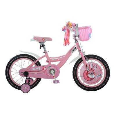 Bunny Girl's Bike, 16 in. wheels, 9 in. frame in Pink/White