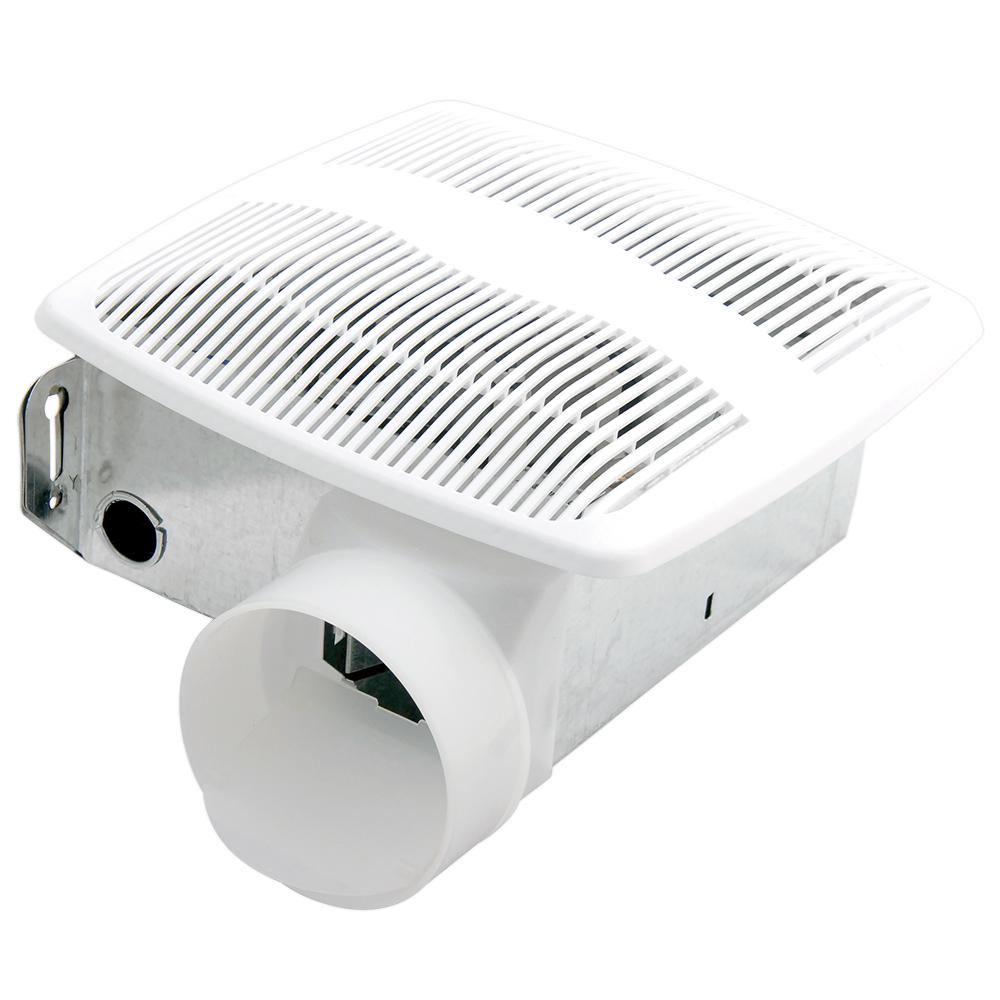 Air King Advantage White 50 CFM 3.0 Sone Single Speed Ceiling Bathroom Exhaust Fan