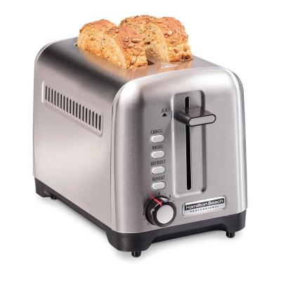 Pro 2-Slice Stainless Steel Wide Slot Toaster