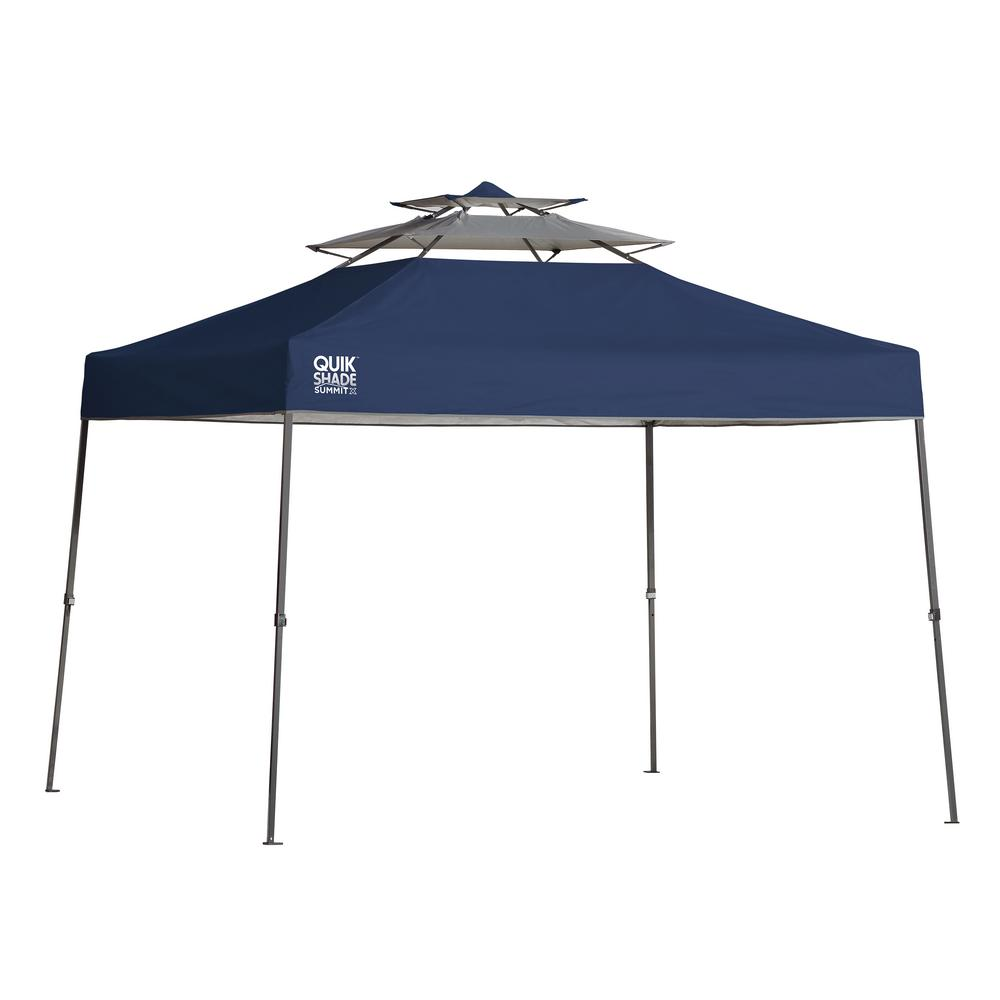 SX100 10 ft. x 10 ft. Blue Straight Leg Canopy