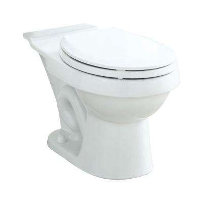 Rockton/Karsten Round Toilet Bowl Only in White