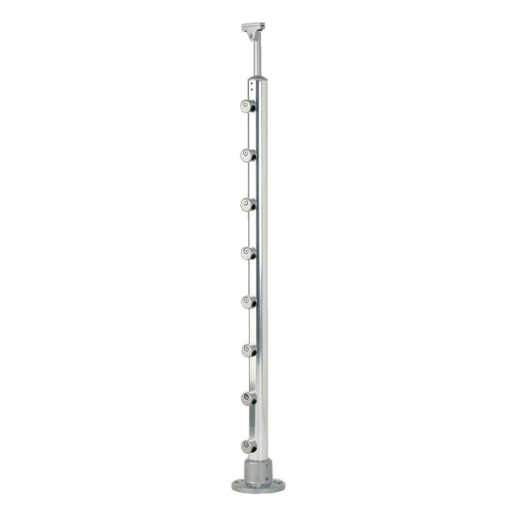 Dolle Prova PA1 36 in. x 1-1/2 in. Aluminum Top Mount Post
