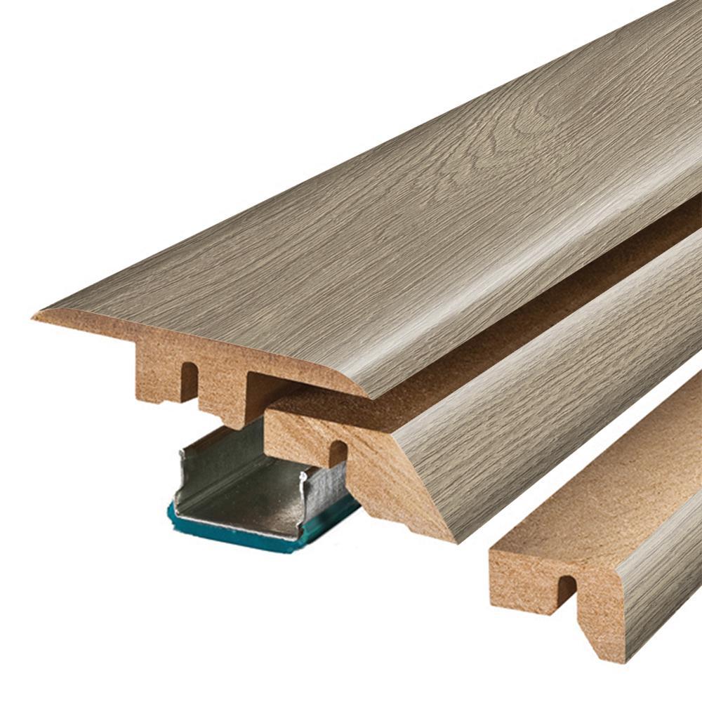 Pergo Urban Putty Oak 3 4 In Thick X 2 1 8 In Wide X 78