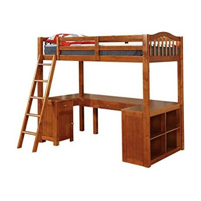 Dutton Oak Twin Loft Bed