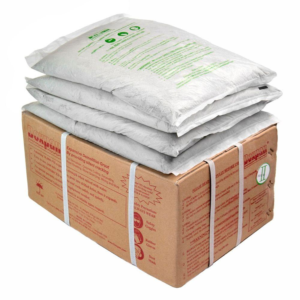 44 lb. Box Type 2 (50F-77F) Expansive Demolition Grout for Concrete