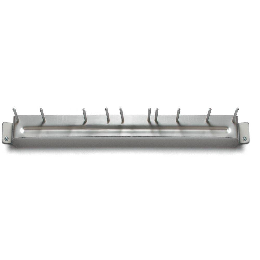 17 in. Aluminum Brush Rack (Case of 12)