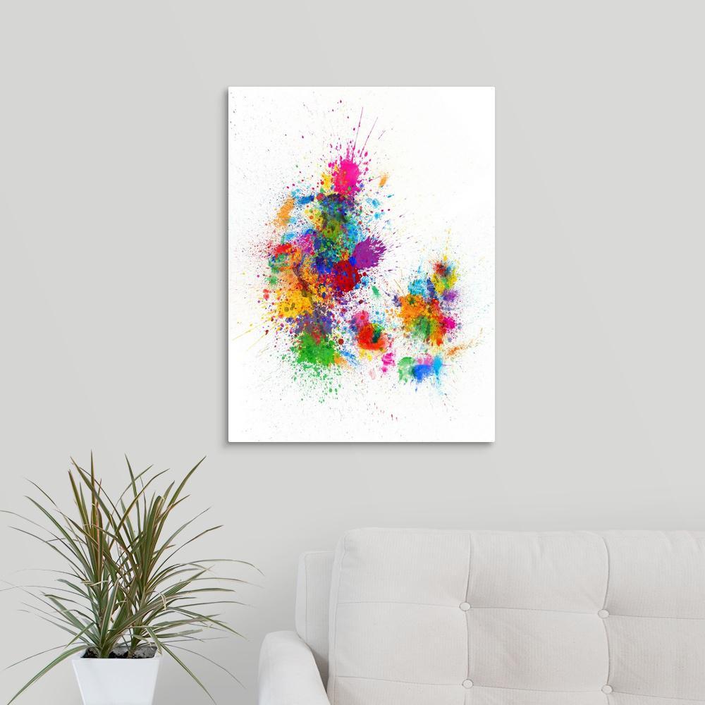 canvas print danmark