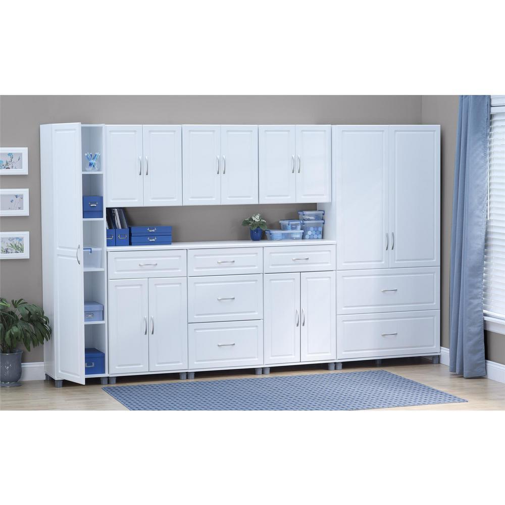 Trailwinds 23-11/16 in. H x 23-7/16 in. W x 12-7/16 in. D Wall Cabinet in White (1-Piece)