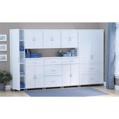 Trailwinds 23-11/16 in. H x 23-7/16 in. W x 12-7/16 in. D Wall Cabinet in White (1-Piece)
