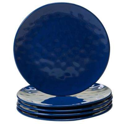 Cobalt 6-Piece Blue Salad Plate Set