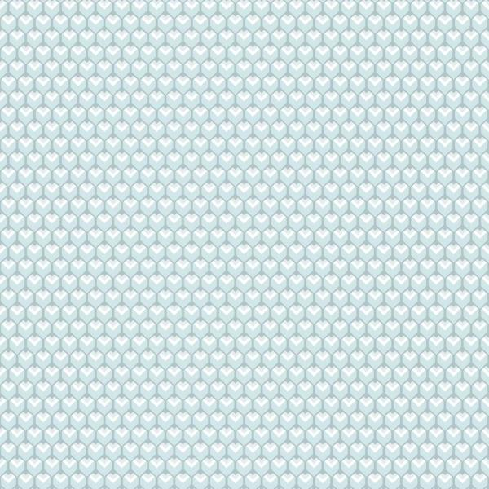 RoomMates 28.29 sq. ft. 3D Petite Hexagons Peel and Stick Wallpaper