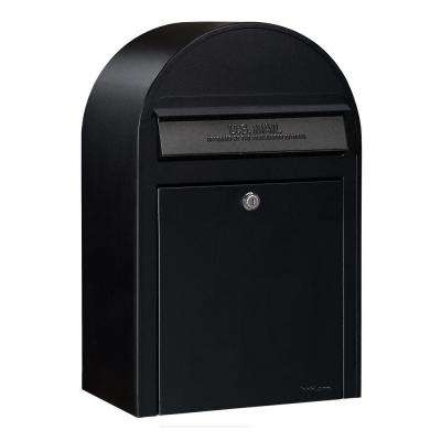 Black Wall Mount Security Mailbox