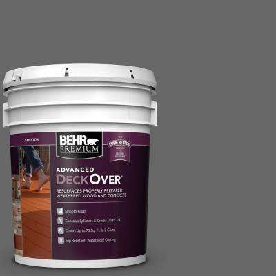 5 gal. #SC-131 Pewter Smooth Solid Color Exterior Wood and Concrete Coating