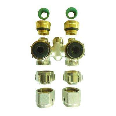 EZ Kit with Angle Bypass Valve
