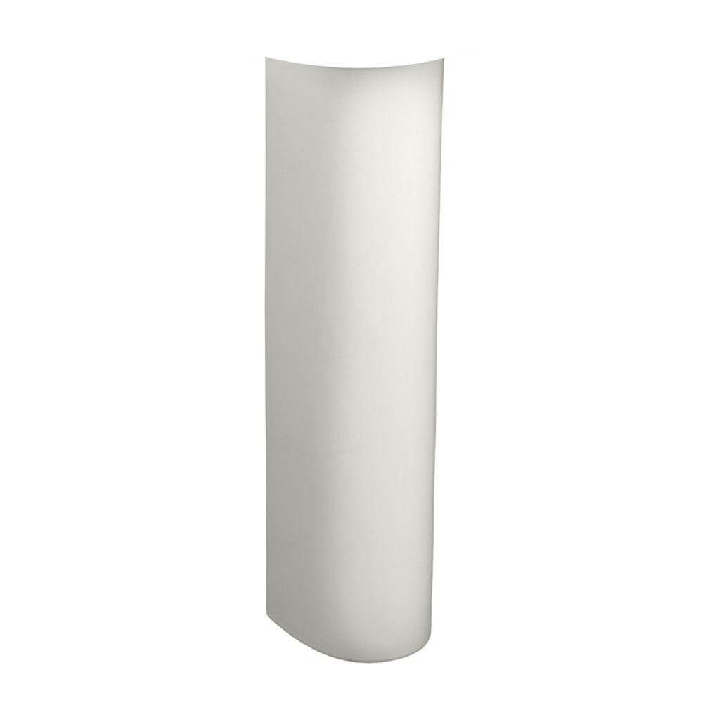 American Standard Evolution Pedestal Leg in White-731150-400.020 ...