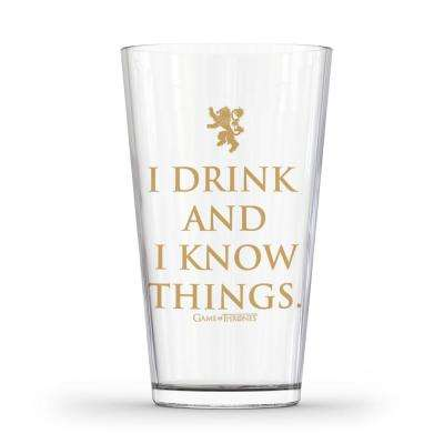 Glass I Drink and I Know Things Glass