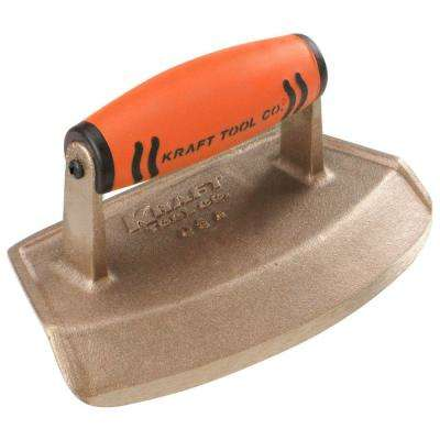 7 in. x 4 in. Bronze Hand Edger-Preform Handle