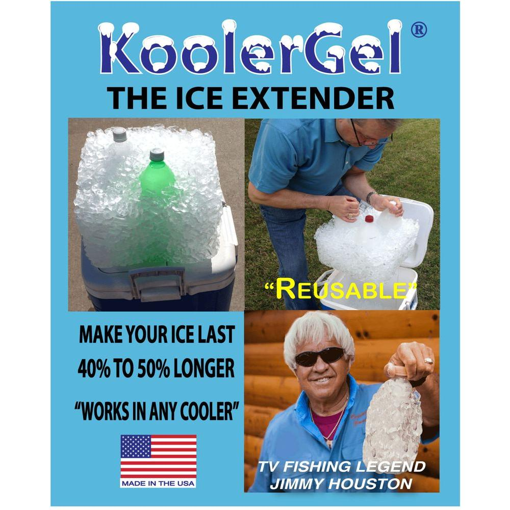 TBK KoolerGel Reusable Ice Extender for Coolers