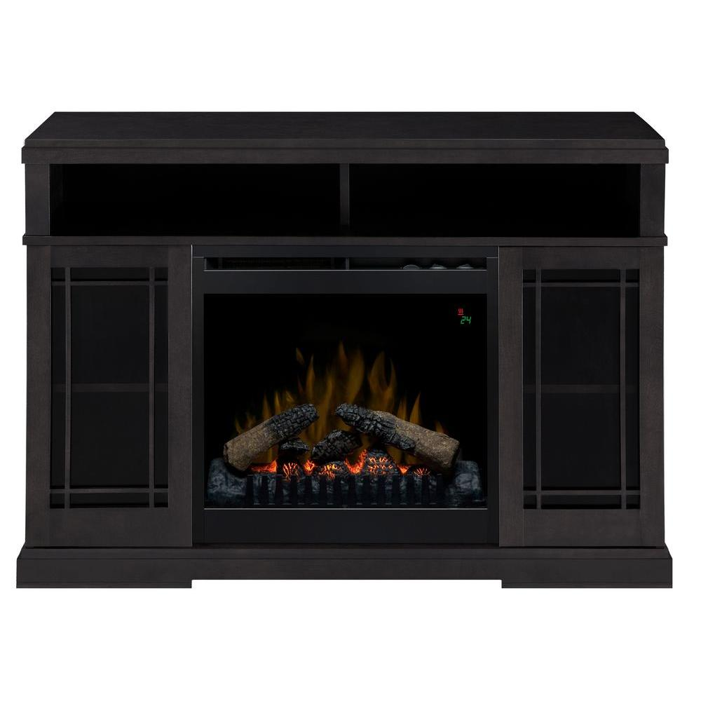Dimplex Farley 47 In Media Console Electric Fireplace In Raven Dfp20l 1424ra The Home Depot