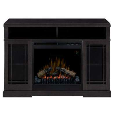 Farley 47 in. Media Console Electric Fireplace in Raven