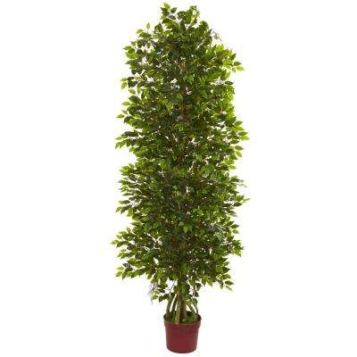 4 Tier Uv Resistant Indoor Outdoor Mini Ficus Artificial Tree