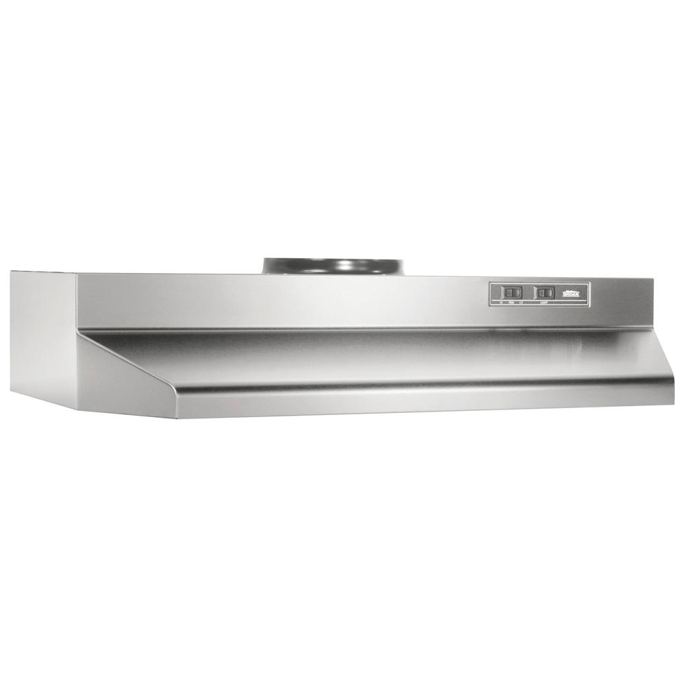 42000 Series 36 in. Under Cabinet Range Hood with Light in