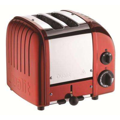 Retro 2-Slice Apple Candy Red Toaster