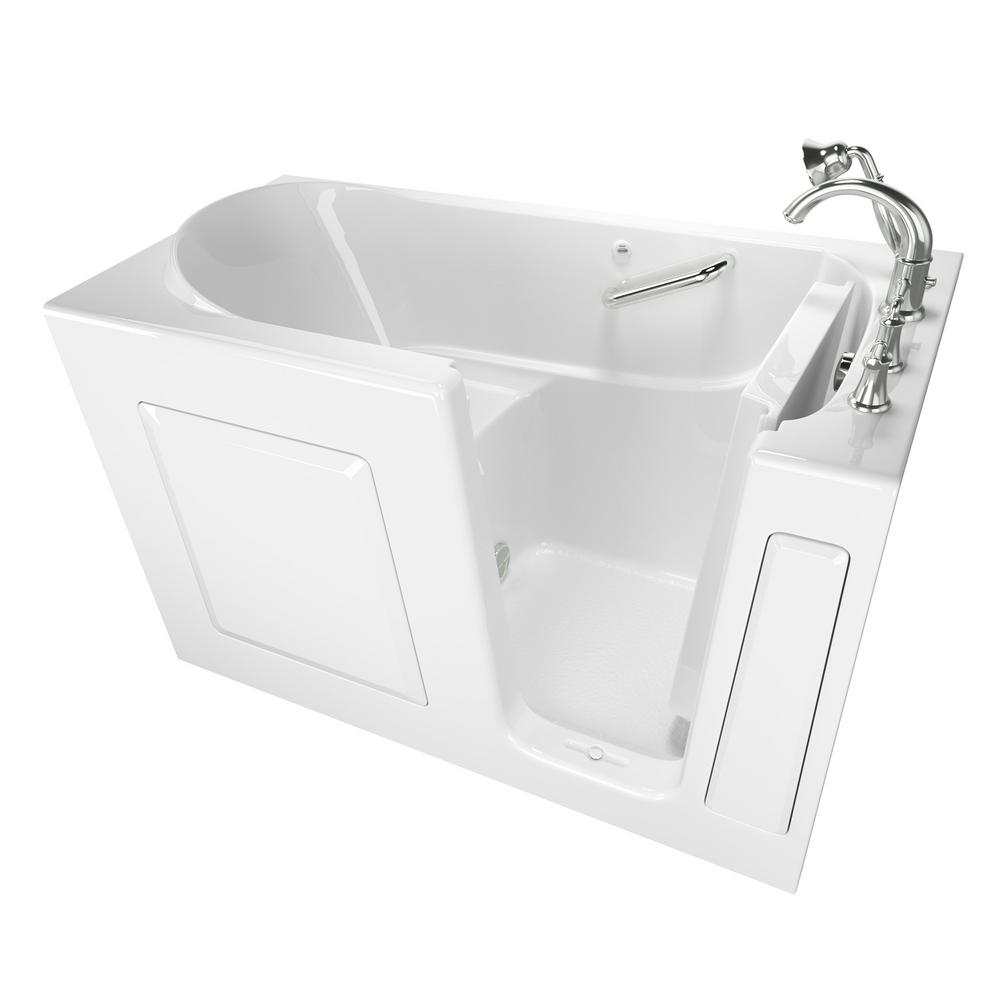Exclusive Series 60 in. x 30 in. Right Hand Walk-In Soaking