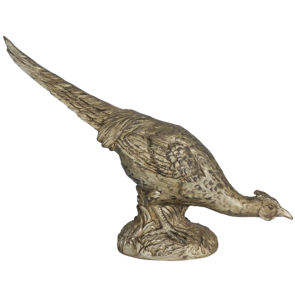 14 in. Pheasant Decorative Statue