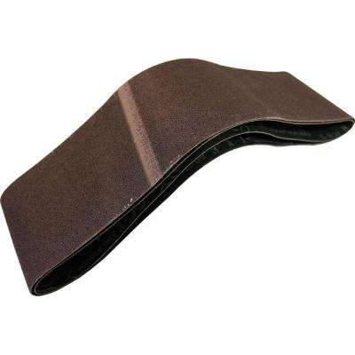 3 in. x 24 in. 80-Grit Abrasive Belt (2-Pack)