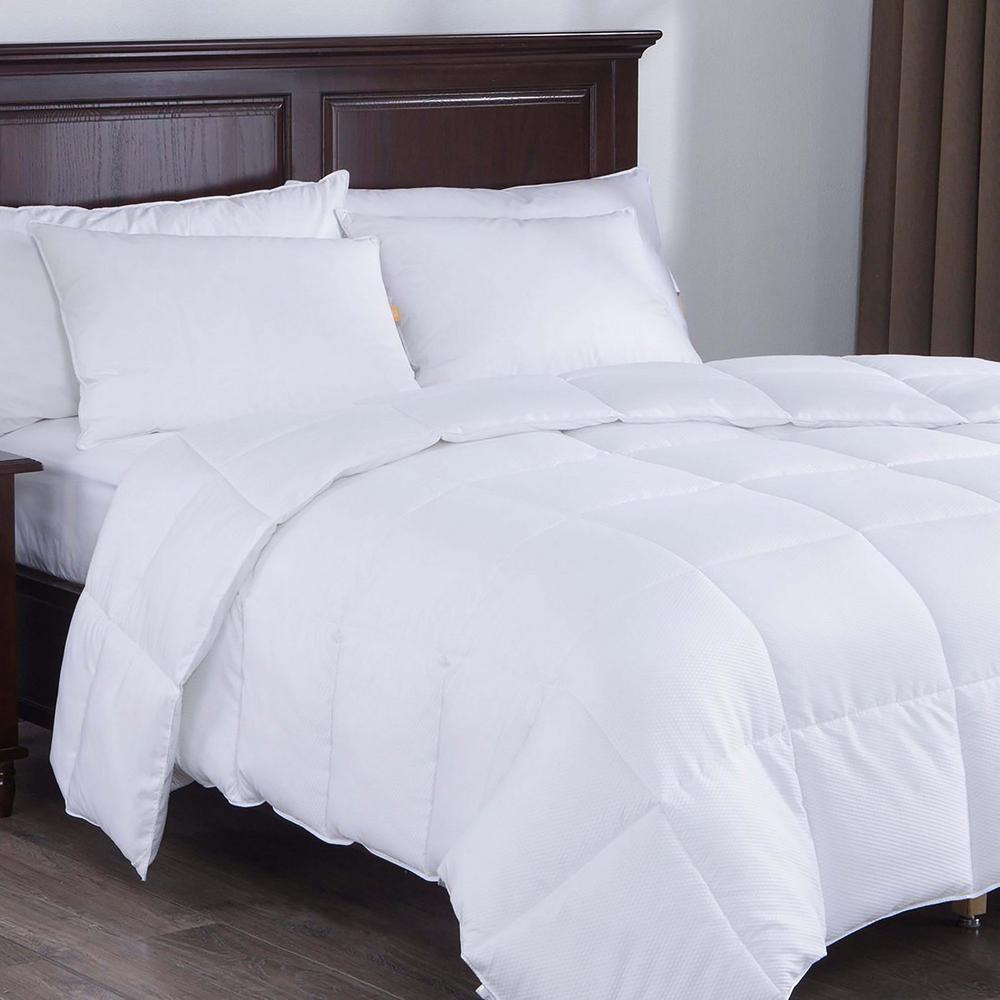 All Season Down Alternative Comforter King in White