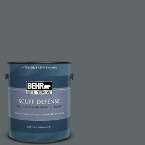 1 gal. #PPU25-20 Le Luxe Extra Durable Satin Enamel Interior Paint & Primer