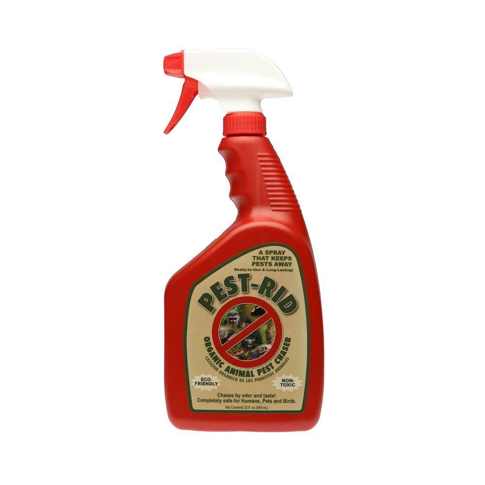 Pest Rid 32 oz. Ready-to-Use Pest Deterrent Spray Bottle