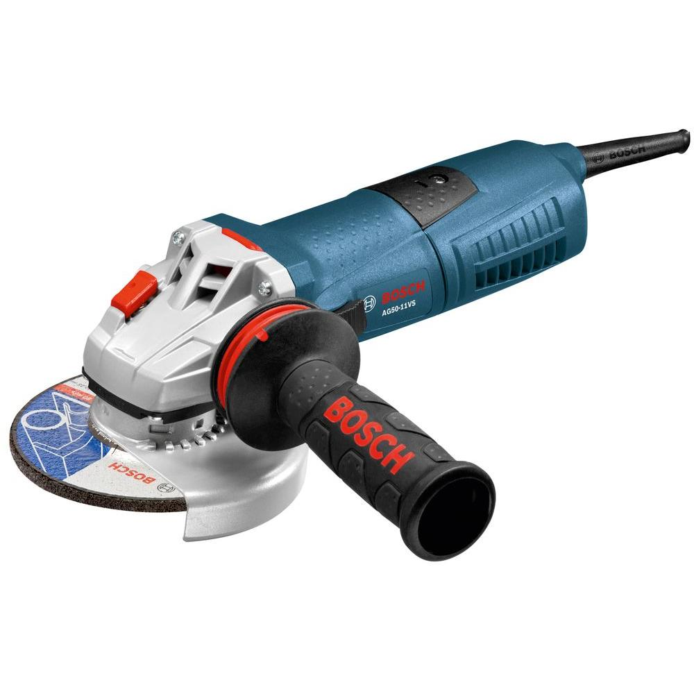 Bosch 11 Amp 5 In Corded Variable Speed Angle Grinder