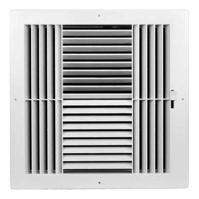 10 in. x 10 in. 4-Way ABS Plastic Grilles
