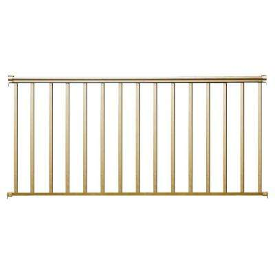 8 ft. x 42 in. Desert Tan Aluminum Baluster Rail Kit