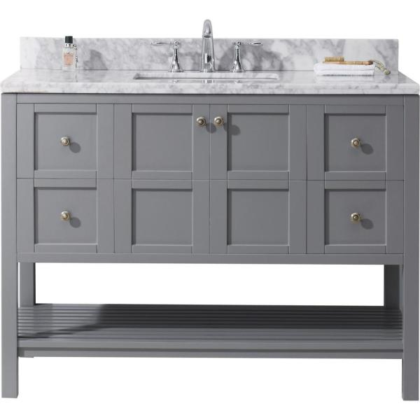 Winterfell 49 In W Bath Vanity Gray