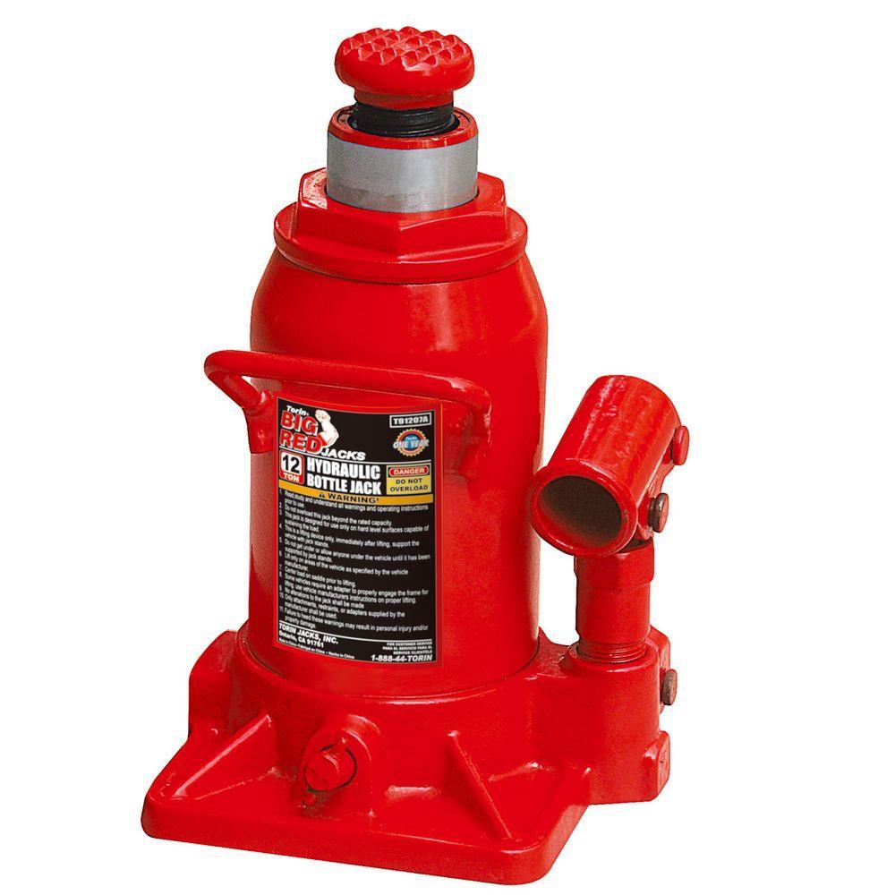Big Red 12-Ton Low-Profile Bottle Jack