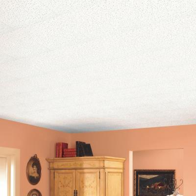 Fine Fissured 1 ft. x 1 ft. Beveled Tongue and Groove Ceiling Tile (40 sq. ft./case)
